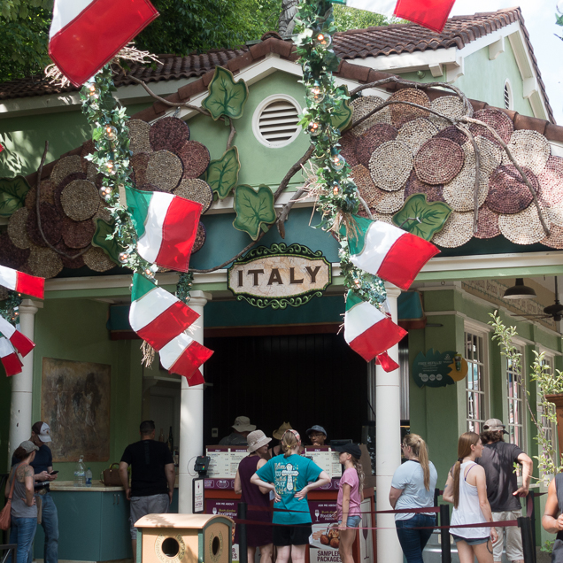 Busch Gardens Williamsburg Food and Wine Festival 2018 Italy