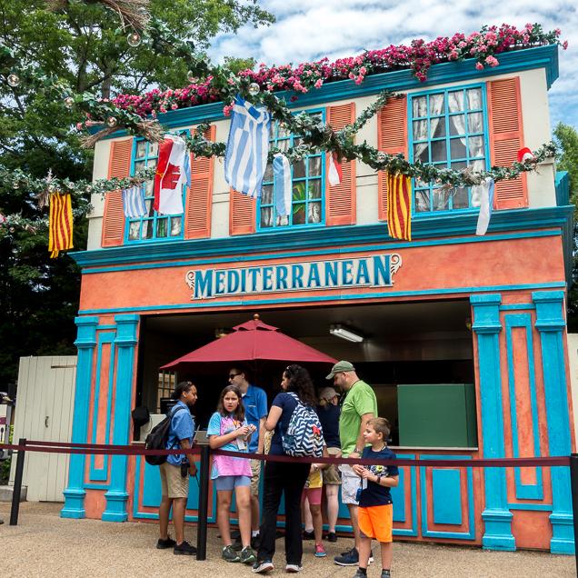 Busch Gardens Williamsburg Food and Wine Festival 2018 Mediterranean