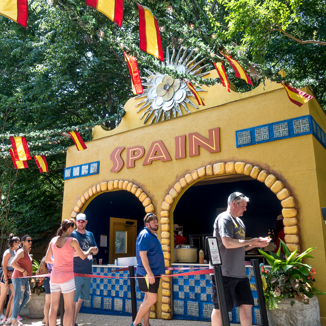Busch Gardens Williamsburg Food and Wine Festival 2018 Spain