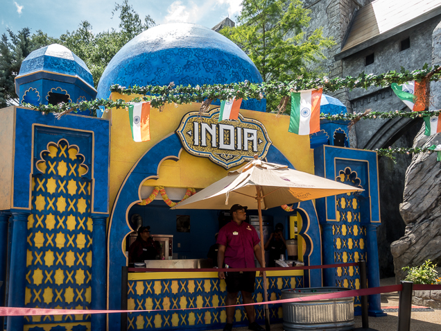 Busch Gardens Williamsburg Food and Wine Festival 2018 India
