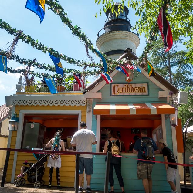 Busch Gardens Williamsburg Food and Wine Festival 2018 Caribbean
