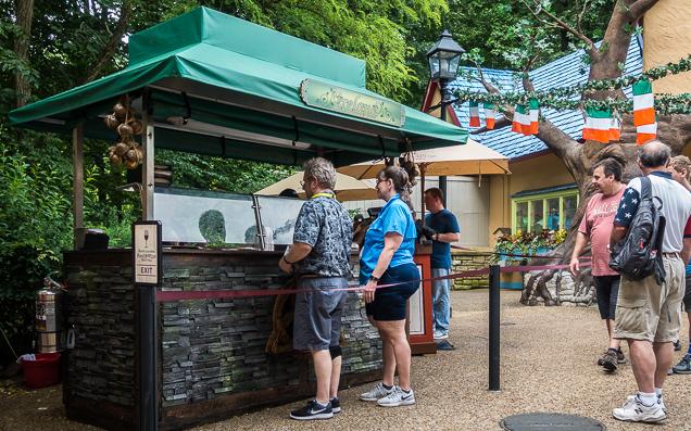 Busch Gardens Williamsburg Food and Wine Festival 2018 Ireland
