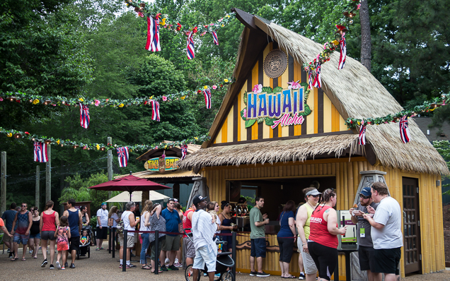 Busch Gardens Williamsburg Food and Wine Festival 2018 Hawaii