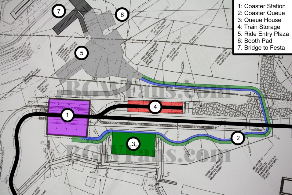 Project Madrid Site Plans