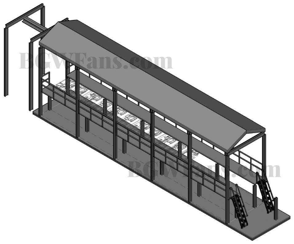 3D Maintenance Building
