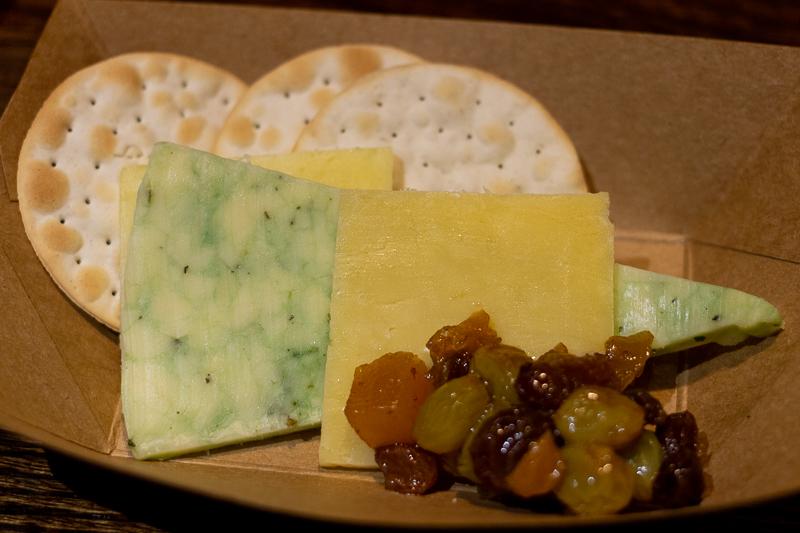 Busch Gardens Williamsburg Food and Wine Festival 2019 Irish Cheese Sampling