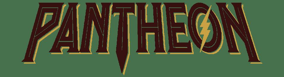 Pantheon Roller Coaster Text Logo