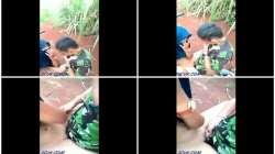 Bokep Indo Abg Ketahuan Mesum di Kebun