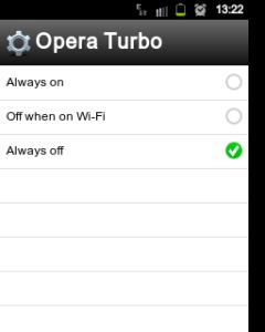 change turbo