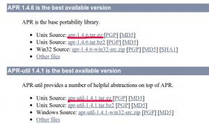 download apr apr-util