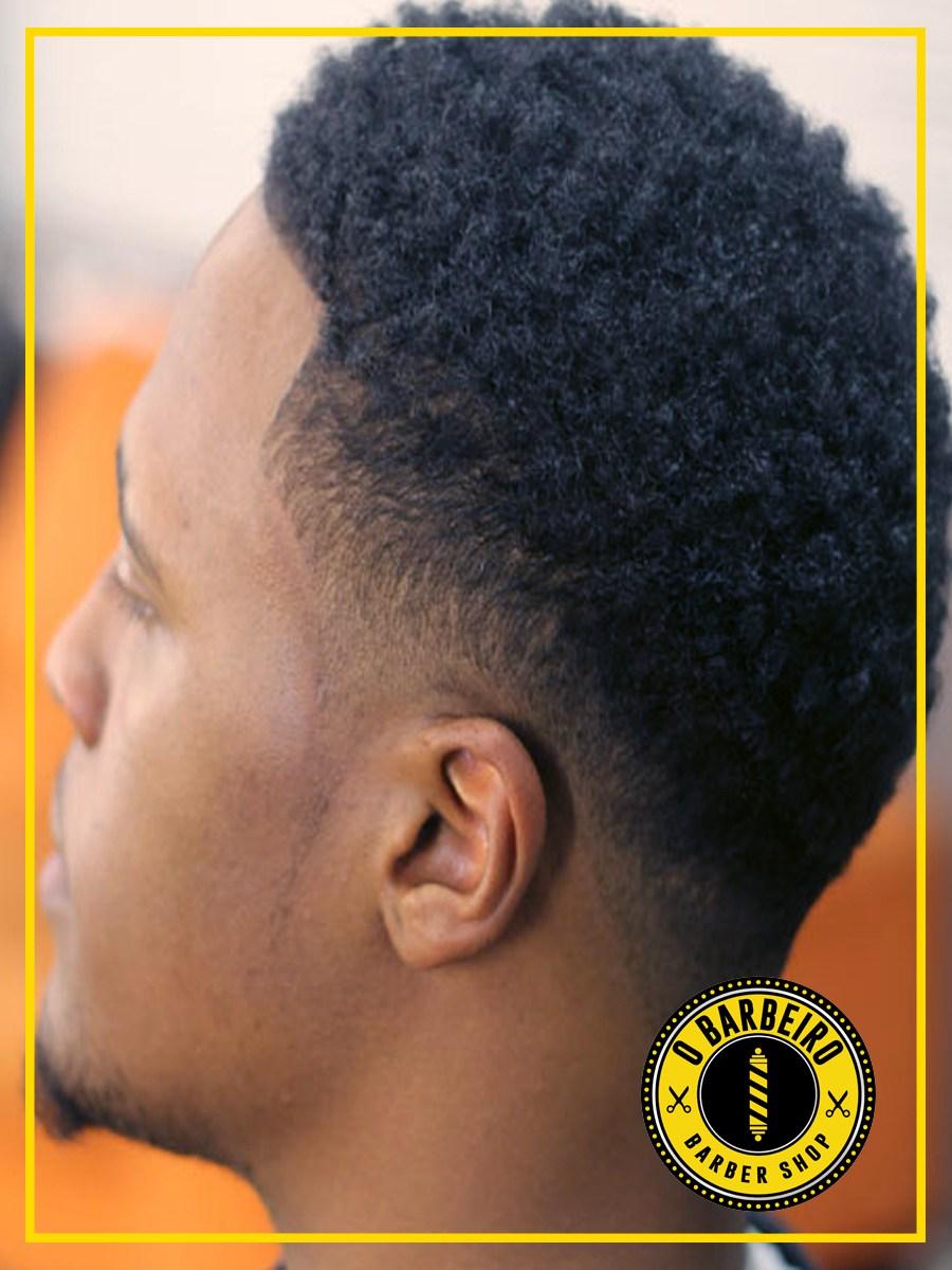 Fade cônico é a base para muitos penteados