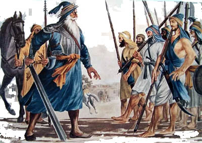 Guru Nanak and the Fighting Sikhs