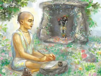 HOW DID SANATANA GOSVAMI BUILD THE MADAN MOHAN TEMPLE? AND WHAT WAS HIS RELATIONSHIP WITH THE DEITY?