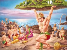 Hanuman-lord-Rama-and-Lakshman