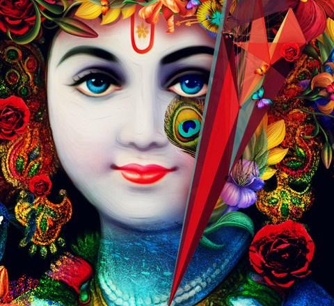 Zari Ki Pagdi Bandhe Hindi Lyrics Krishna Song
