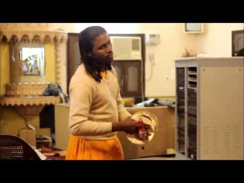 Krishna Aarti in (Vrinda Seva Sadan) Vrindavan