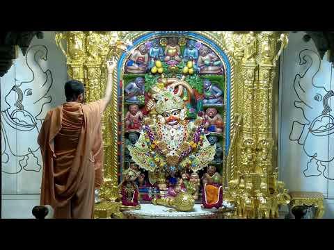 Sandhya Aarti Darshan Salangpur Date : 06-07-2021