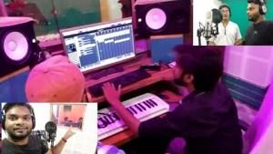 शिव जी भजन लिरिक्स - Recording complete || pancham studio,Ara || Samrat vlogs || shiv bhajan