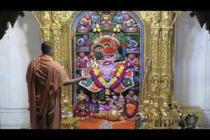 Sandhya Aarti Darshan Salangpur Date : 28-07-2021