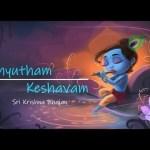Achyutham Keshavam   Sri Krishna Bhajan   Singer – Madhura BhattaCharya   Vibha Creations