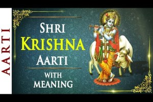 Aarti Kunj Bihari Ki KRISHNA AARTI with LYRICS By HARIHARAN I FULL VIDEO SONG Pavandevji Maharaj