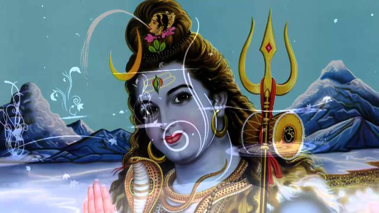 Shiv chalisa | Jai Ganesh Girija song with Hindi lyrics | Full Video Song