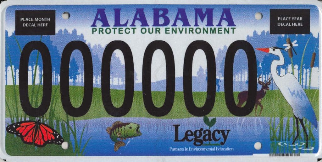 """So… that's where the """"Protect Our Environment"""" car tag money goes"""
