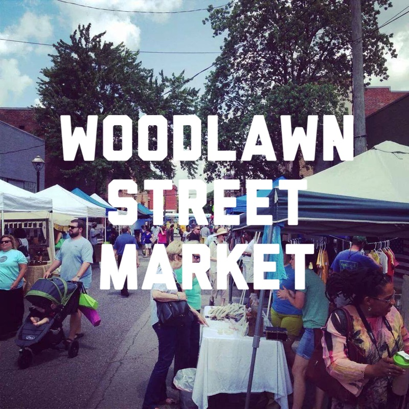 Woodlawn Street Market is Back!   Saturday, Sept. 10th  10am-4pm