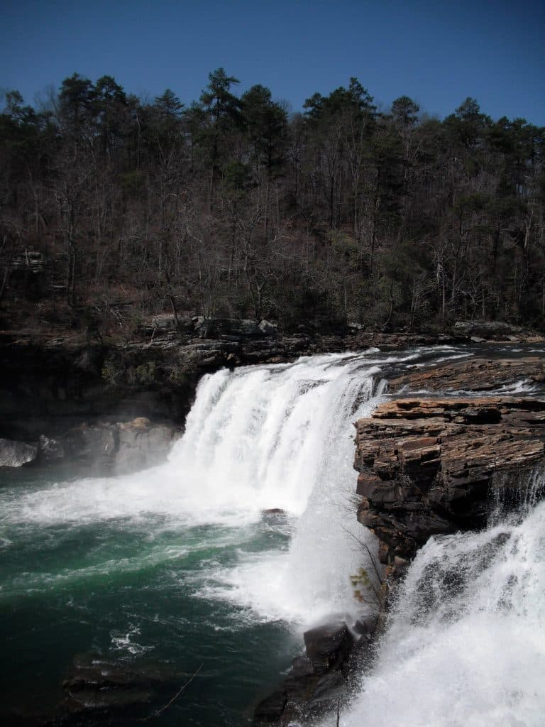 Little River Falls earlier this year