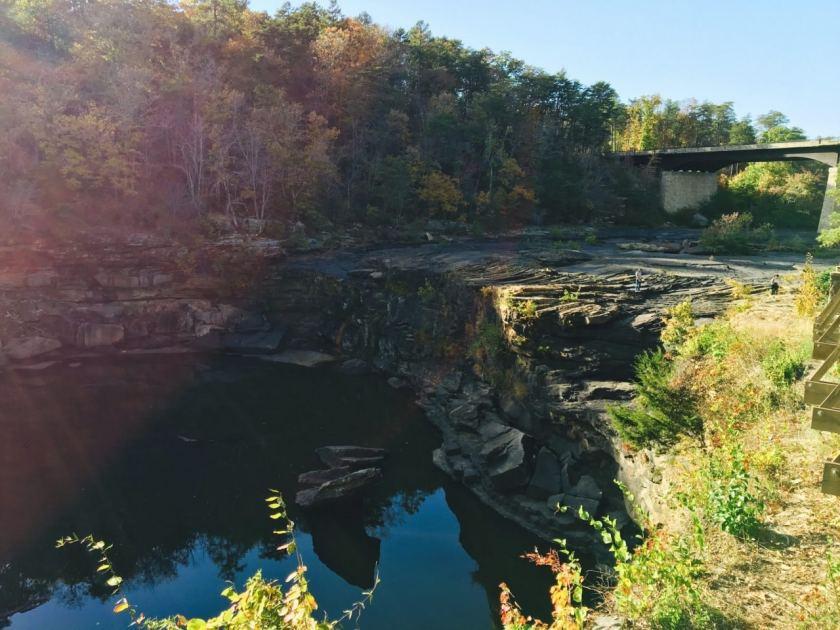 Dry Little River Falls