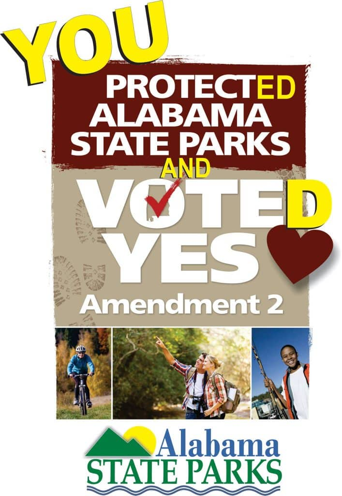 "1,367,434 ""yes"" votes – State Parks Amendment top vote-getter in Alabama"