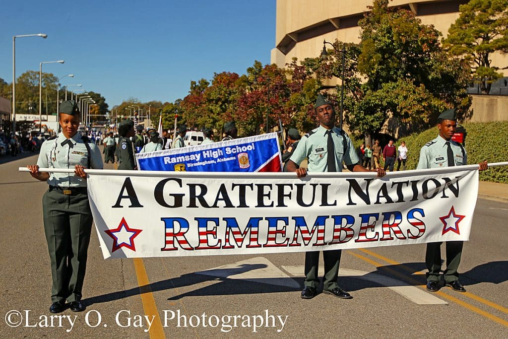 Birmingham's National Veterans Day Parade – honoring our heroes (slideshow)