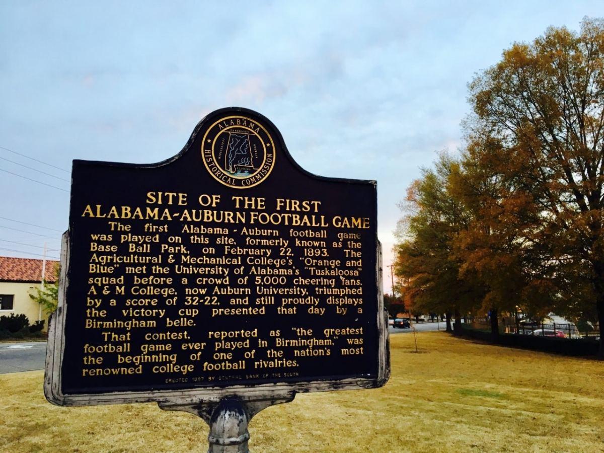 A little Iron Bowl history (slideshow)