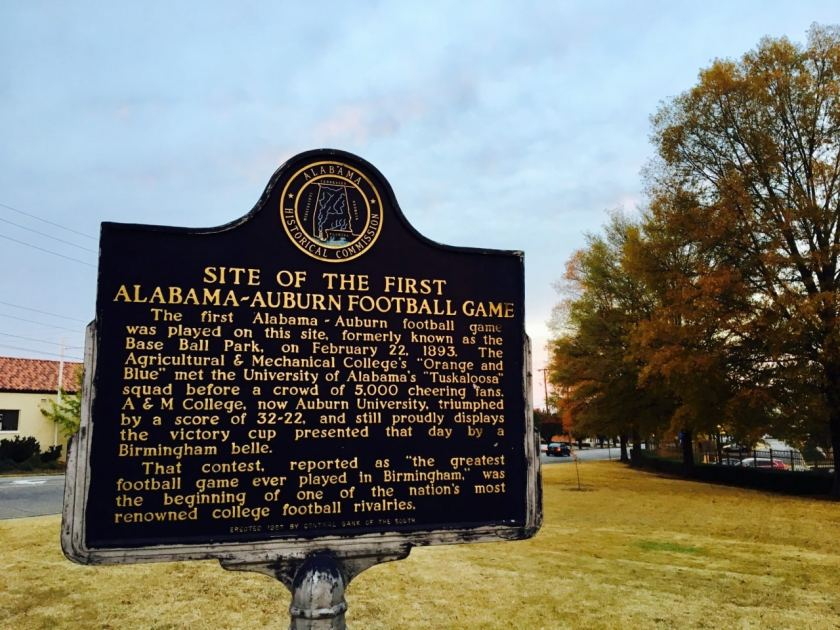 Alabama-Auburn Historical Marker