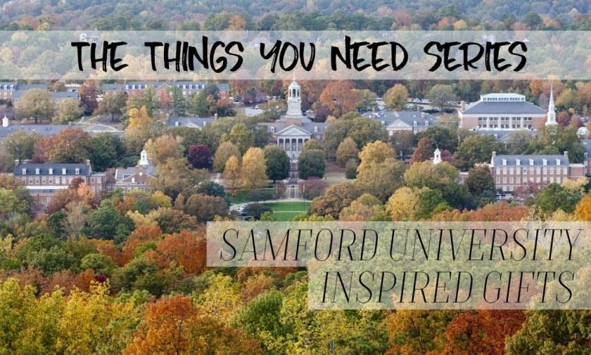 Things You Need - Samford