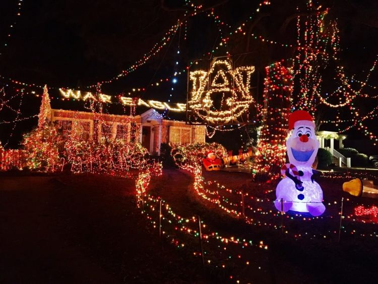 Christmas Lights Birmingham Alabama