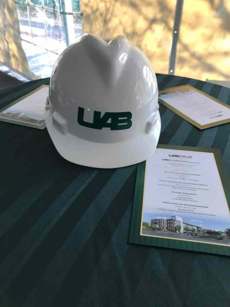Ground Breaking UAB Collat School of Business