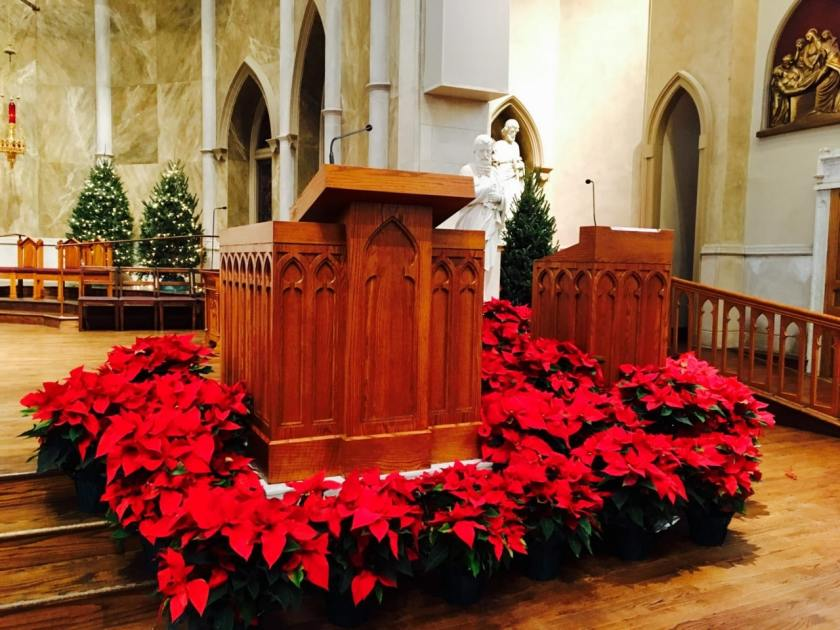 Birmingham, St. Paul Cathedral, Christmas services, Christmas Eve services, St. Paul Catholic Cathedral