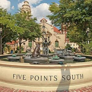 Five points south, Birmingham, Alabama, Larry O. Gay photography