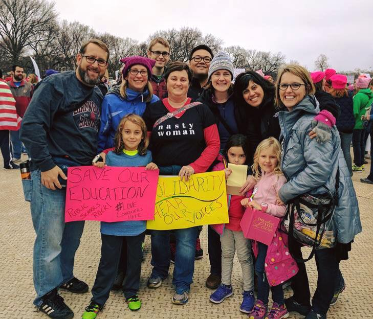 Locals Joined Women's March on Washington – Possibly largest demonstration in history