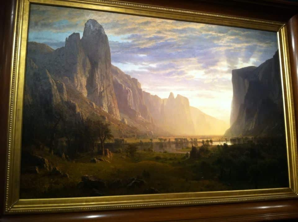 Celebrating Albert Bierstadt's birthday today and his breathtaking painting at the BMA
