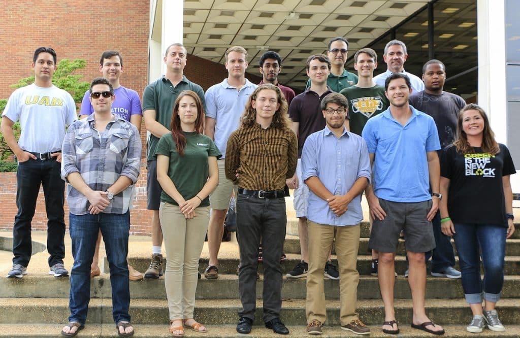 UAB's Solar Decathalon Team wins Grant Awesome Award $1000