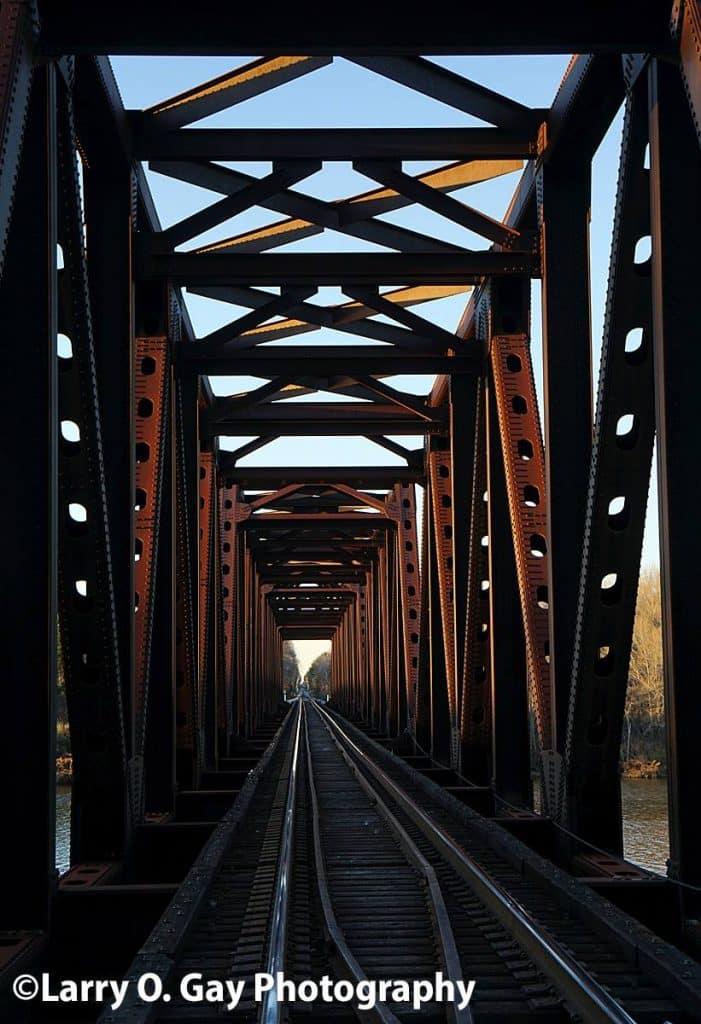 The perfect railroad bridge picture