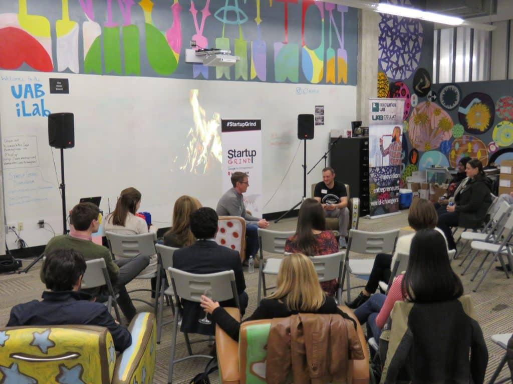 Fleetio CEO talks to Local Entrepreneurs at Startup Grind Birmingham
