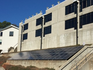 Mission accomplished – The Altamont School solar array installed