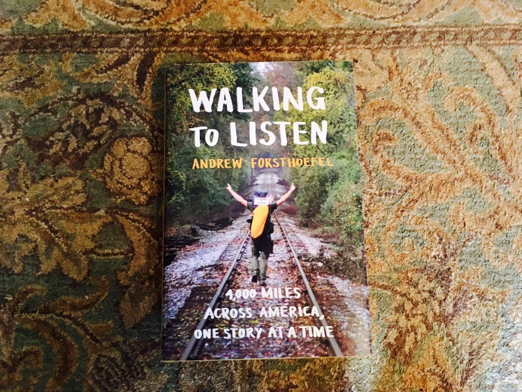 "Be inspired: Meet ""Walking to Listen"" author Andrew Forsthoefel in Birmingham"