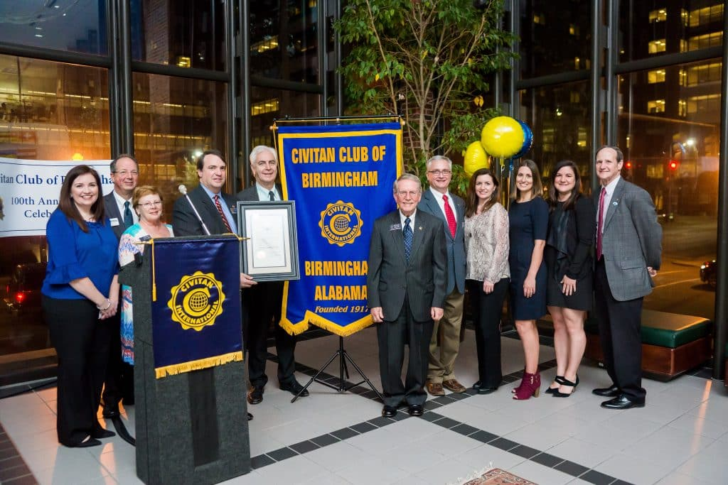 Civitan Club of Birmingham marks 100th anniversary