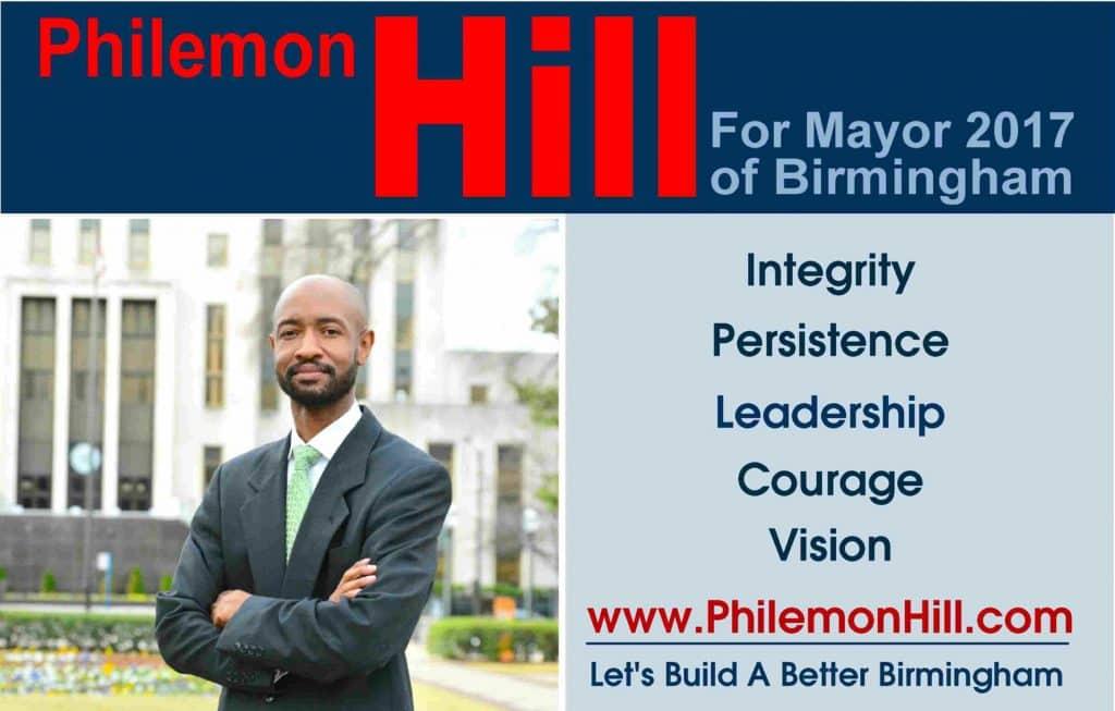 Birmingham, Alabama mayoral candidate interview: Philemon Hill