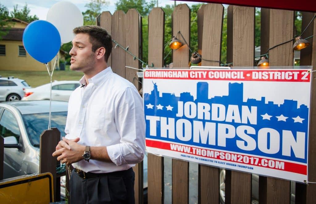 Let's talk to Birmingham City Council candidate Jordan Thompson