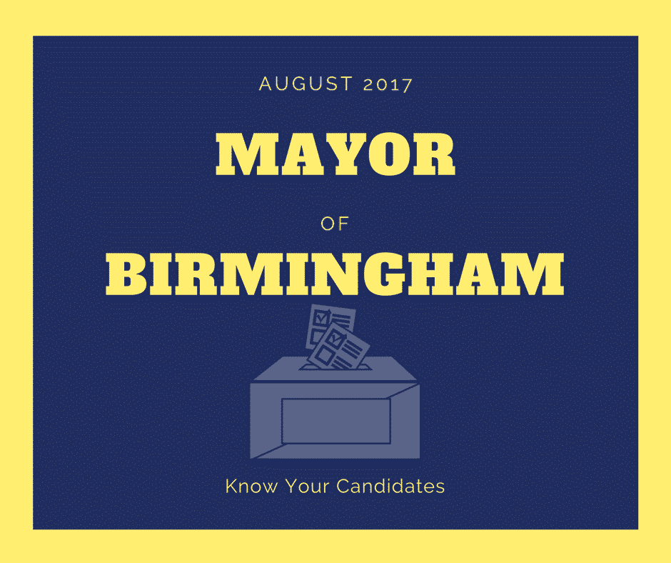 Who's up for Mayor of Birmingham?  Here are two candidates and what you should know about them